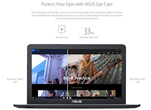 Asus A540YA-XO645T 15.6-inch Laptop (E1-6010/4GB/1TB/Windows 10 (64bit)/Integrated Graphics), Black