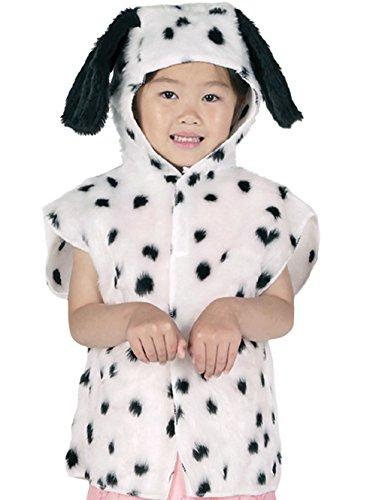 Dalmatiner Fell Fasching Anzug Tabbard (Dalmatiner Kostüme Ideen)