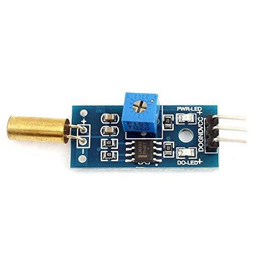 DealMux 2V-36V 2-Wege-Steuerung LM393 Sensor Winkelmodul für Micro Control Unit