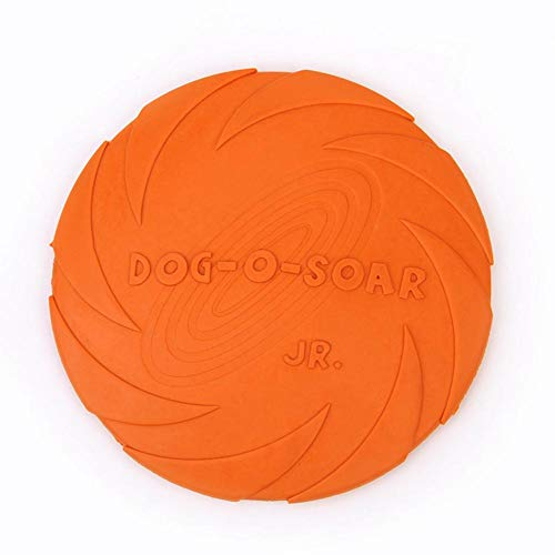 Hunde-Frisbee,schwimmende Gummi-Frisbee,golf disc,Ultimate Frisbee Disc Welpen, Frisbee Kauen & Apportieren Spielzeug fliegender Untertasse, Spielzeug für interaktives Spielzeug zum Spielen