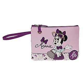 Disney Minnie Glam Neceser de Viaje, 0.37 Litros, Color Rosa