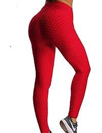 84779fcf4ab70 FITTOO Mallas Pantalones Deportivos Leggings Mujer Yoga de Alta Cintura  Elásticos y Transpirables para Yoga Running Fitness con Gran…