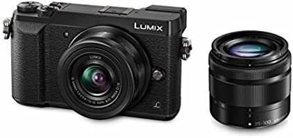 Panasonic Lumix DMC-GX80  12-32 / 3.5-5.6 Lumix G Vario MEGA OIS ASPH  35-100 / 4.0-5.6 G Vario Asph. MEGA O.i.s Appareils Photo Numériques 16.84 Mpix