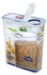 De 4–lock lock & hPL714F slender avec schütte 112 x 237 x 280 mm 4300 ml boîte alimentaire frischhaltedose schüttbox boîte à couvercle transparent