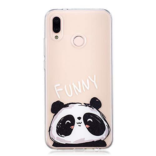 NEXCURIO [Huawei P20 Lite] Hülle Silikon, Schutz Handy Hülle Handytasche HandyHülle Stoßfest Kratzfest Etui Schale Schutzhülle Weich Bumper Case Cover für Huawei P20Lite - NEHEX16090#6