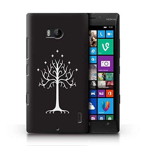 Stuff4® Hülle/Case für Nokia Lumia Icon/Weißer Baum Gondor Muster/LOTR Fantasie Inspiriert Kollektion (Nokia Lumia Icon Weiß)