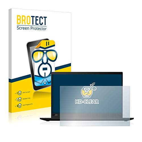 BROTECT Schutzfolie kompatibel mit Lenovo ThinkPad X1 Carbon (7. Generation) klare Bildschirmschutz-Folie