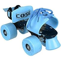 Cosco Zoomer Roller Skate, Junior Sky/Blue