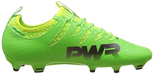 Puma Mens Evopower Vigore 2 Fg Scarpe Da Calcio, 40 Eu Verde (verde Geco-puma Nero-sicurezza Giallo 01)