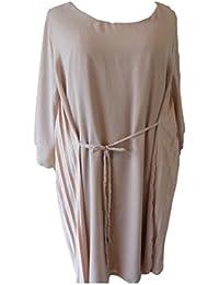 Unique boutique-robe couleur crème beige taille 46 long pour format xXL 48/50/52 54 crème lollipop