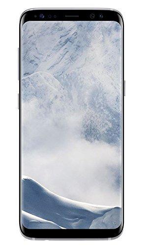Samsung Galaxy S8 Smartphone (5,8 Zoll (14,7 cm) Touch-Display, 64GB interner Speicher, Android OS) arctic silver(Zertifiziert und Generalüberholt)