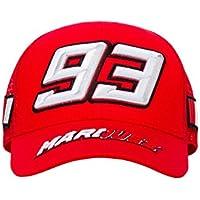 Marc Marquez 2018 Honda MotoGP  93 Trucker Style Baseball Cap Red Adult One  Size c0035d2af7b7