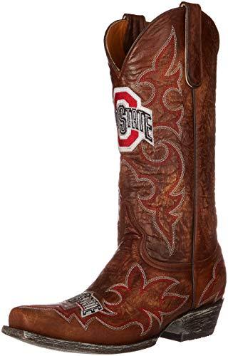 NCAA Ohio State Buckeyes Herren Gameday Stiefel, Herren, Messing, 8 D (M) US (Schuhe Ohio Buckeyes Männer State)