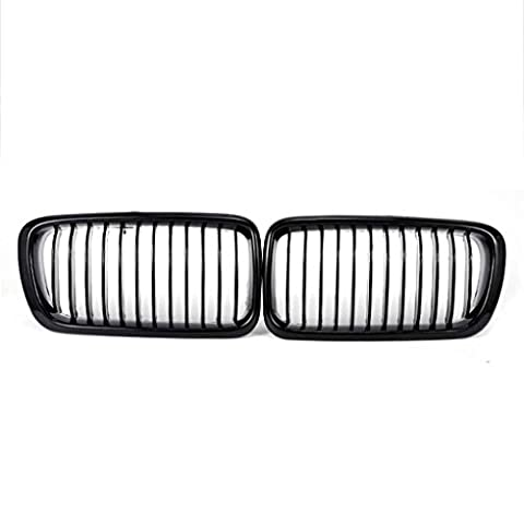 Meisijia Car Front Kidney Grilles Grill pour BMW E38 7-Series
