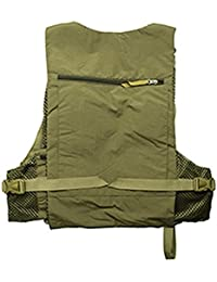 EDTara Fishing Vest Multi-Pocket Fishing Vest Men Summer Outdoor Casual Camo Vest Mesh Hiking Hunting Vest Breathable