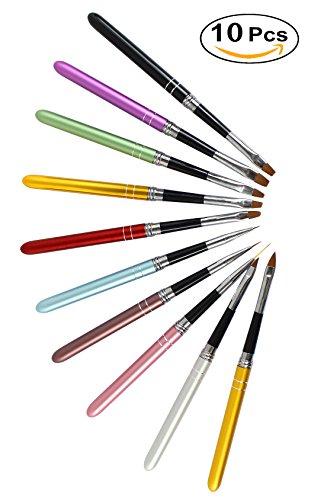 Xiaoyu 10PCS diseño uñas diseño arte uñas pintar