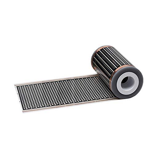 Infrarot Heizfolie 12V DC 0,5x1m 130W/m² Niedervolt elektrische Fußbodenheizung