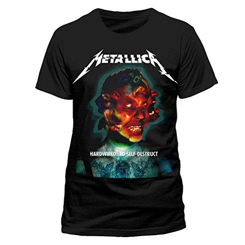 Metallica T-Shirt Hardwired Album Cover (S) - Album-cover Tee Herren