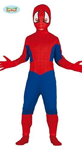 Costume Spiderman uomo ragno carnevale bambino Taglia 5-6 anni