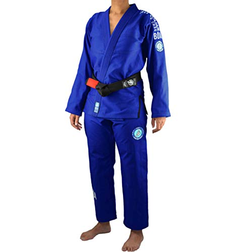Bõa bjj gi kimono donna jogo no chão 3.0 - blu, f2