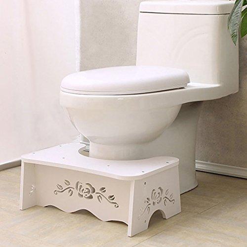 Yuyandejia Badhocker Bad- und Toilettenhocker Schemel Kindergrube Schemel Sit Schemel Schemel Toilettenhocker Wasserdicht und feuchtigkeitsfest -