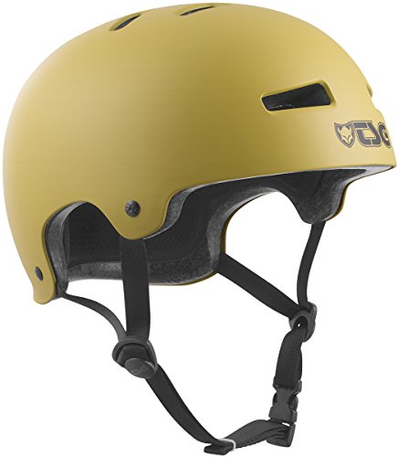 TSG Helm Evolution Solid Color Satin Dark Buff, S/M