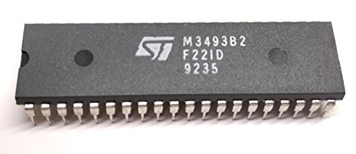 1 Stück M3493B2 | CMOS 12 X 8 ANALOG CROSSPOINT WITH CONTROL MEMORY | LOW ON RESISTANCE | STMicroelectronics | DIP40 Gehäuse Cmos Analog Switch