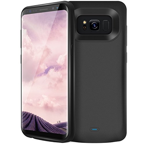 PEMOTech Galaxy S8 Charger Case, 5000mAh Ultra Slim