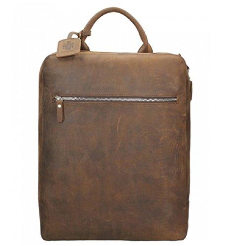 Preisvergleich Produktbild L. Heyden Rucksack 7669 Backpack Lederrucksack Leder Messenger Bag Herren