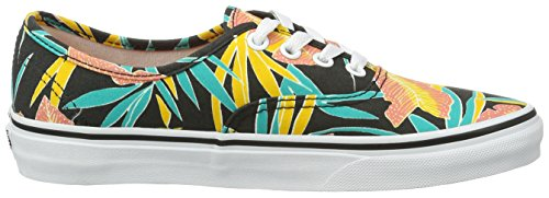Vans Ua Authentic, Baskets Basses Pour Femmes (tropical Leaves)