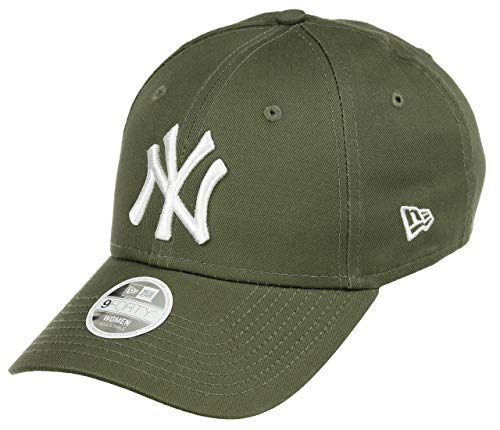 New Era League Essential 9Forty Damen Adjustable Cap NY Yankees Khaki, Size:ONE Size -