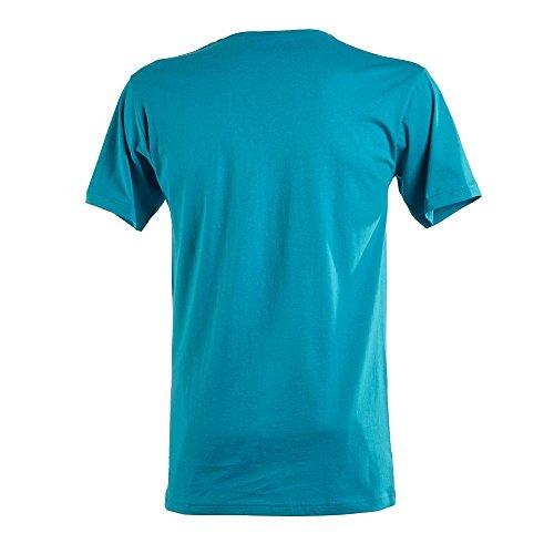 James & Nicholson - Slim Fit T-Shirt mit V-Ausschnitt White