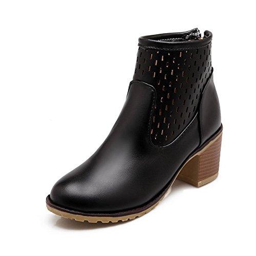 1to9-damen-durchgngies-plateau-sandalen-mit-keilabsatz-schwarz-schwarz-gre-355