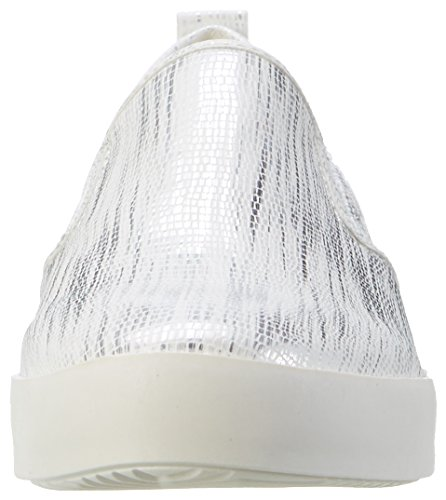 Dockers by Gerli 36ai814-680591, Sneakers Basses Femme Blanc (Weiss/silber 591)