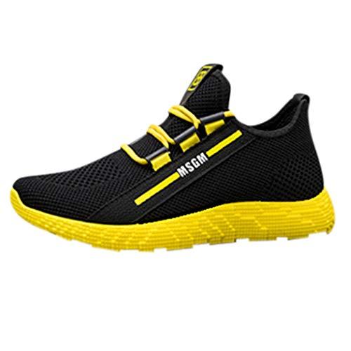 KERULA Sneaker Herren Damen Die neuen Männer, die le Running Shoes Tourist Leisure Sports weben Outdoor Sicherheitsschuhe Trekkingschuhe Laufschuhe Sneakers Schuhe - Schuhe Vans Schwarz Und Pink