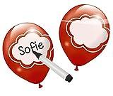 Ballons zum Selbstbeschriften, bunt gemischt, ca. 28 cm