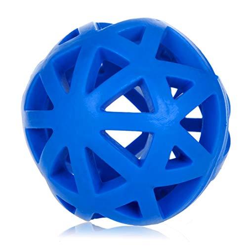 Gummi-Hundespielzeug Durchsickern-Ball aushöhlen Haustier-Futter-zusammenwirkender Trainings-Ball