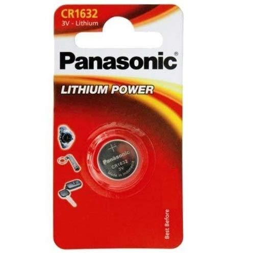 hium Batterie 3V, Packung mit 2 ()
