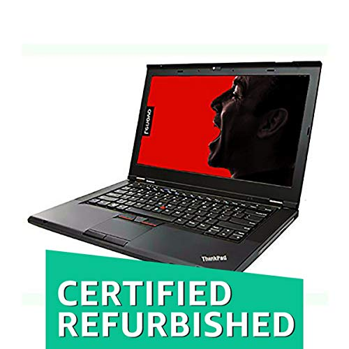 (Certified REFURBISHED) Lenovo Thinkpad T430 14.1-inch Laptop (3rd Gen Core I5 3320M/4GB/1TB/Windows 10 Pro 64 Bit/Integrated Graphics), Black