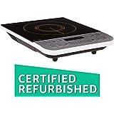 (Certified REFURBISHED) Philips Viva Collection HD4928/01 2100-Watt Induction Cooktop (Black)
