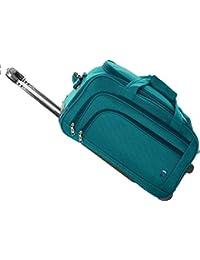 4b6b8cb631 Novex Polyester 56 Cm Turquoise Soft Sided Travel Duffle