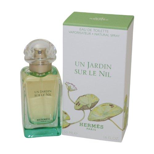 Hermes Un Jardin Sur Le Nil By Hermes For Men. Eau De Toilette Spray 1.7 Ounces