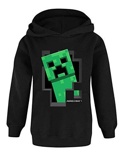 Minecraft Jungen Kapuzenpulli (5-6 Jahre) (Kind Kleines Zombie)