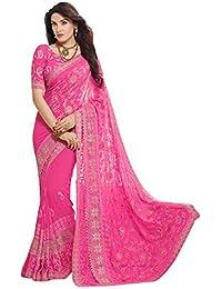7b0a4e905c Miodis Fashion Saree For Women Party Wear Half Sarees Padmavati Silk Pallu  And Utsav Scut With Fancy Embroidery…
