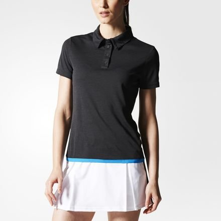 adidas Oberkörper-Bekleidung Uncontrol Climachill Polo Women, Schwarz, M -