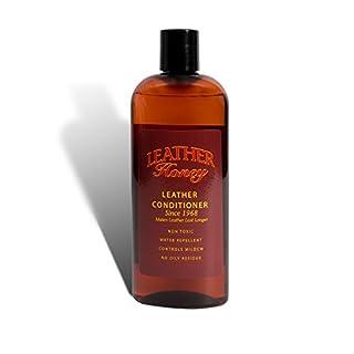 Lederpflege von Leather Honey, die beste Lederpflege seit 1968, 237-ml-Flasche. Für die Anwendung auf Lederbekleidung, Möbeln, Auto-Innenausstattung, Schuhen, Taschen und Accessoires. Ungiftig und hergestellt in den USA!