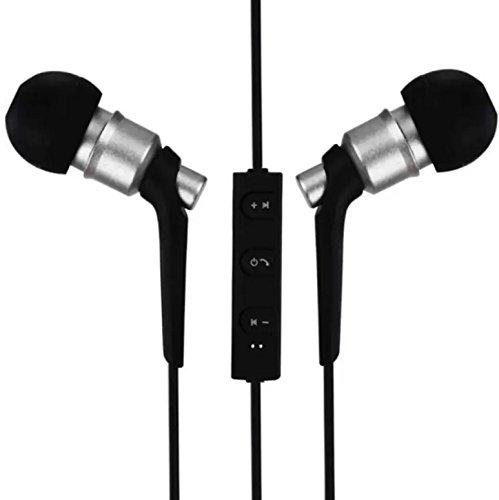 Kabellose Kopfhörer Bluetooth 4.2, besten Funkkopfhörer Sport, HD Kopfhörer silber