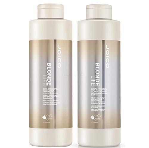 Joico Blonde Life Brightening Set - Shampoo 1000ml + Conditioner 1000ml