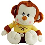 15 Inch Cute Little Monkey Plush Toy Soft Stuffed Animal Doll Wedding Xmas Christmas Birthday Valentine Gift