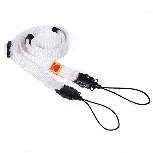 Kodak Printomatic Kamera Umhängeriemen (Weiß) – Verstellbar, bequem, praktisch – Die einfachste Möglichkeit, jeden Kodak-Moment festzuhalten